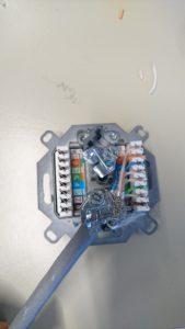 Buchse für RJ-45-Stecker